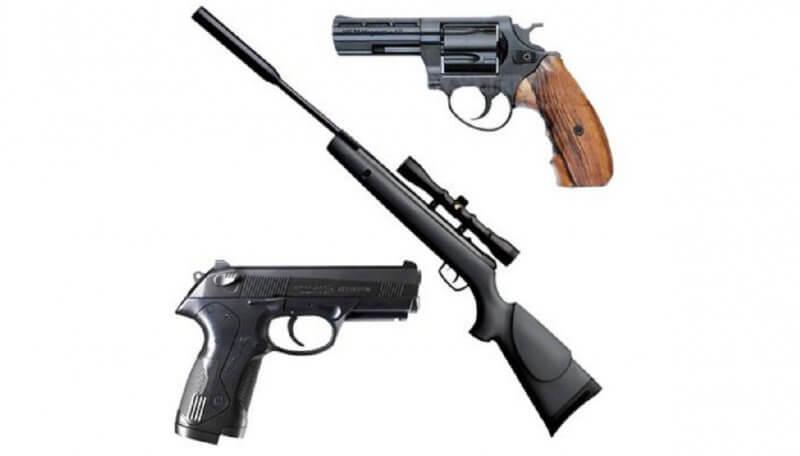 виды пневматического оружия