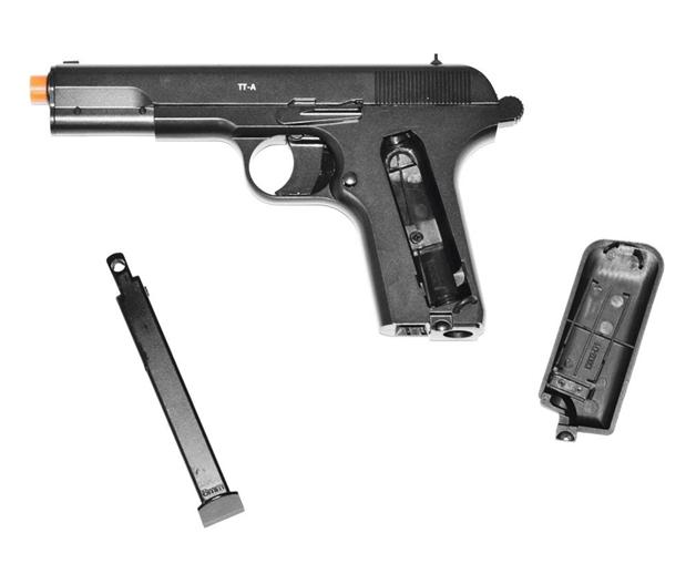 Обзор пневматического пистолета Gletcher TT