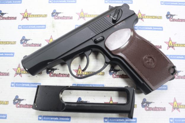 Страйкбольный пистолет Макарова