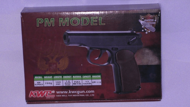 Комплектация пистолета Макарова