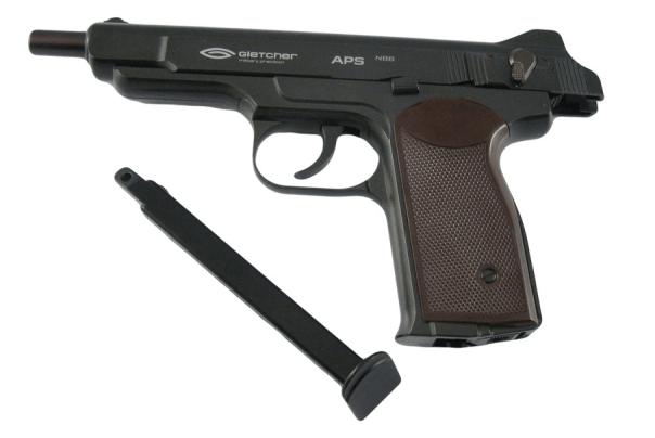 Обзор пневматического пистолета Стечкина Gletcher APS