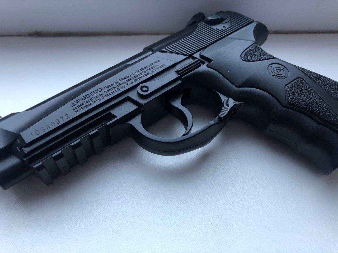 Обзор пневматического пистолета Crosman C31 (США)