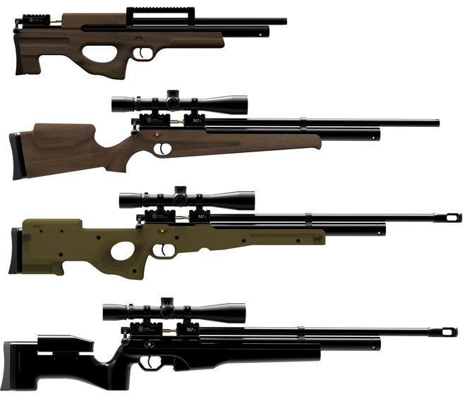 Лучшие российские пневматические винтовки