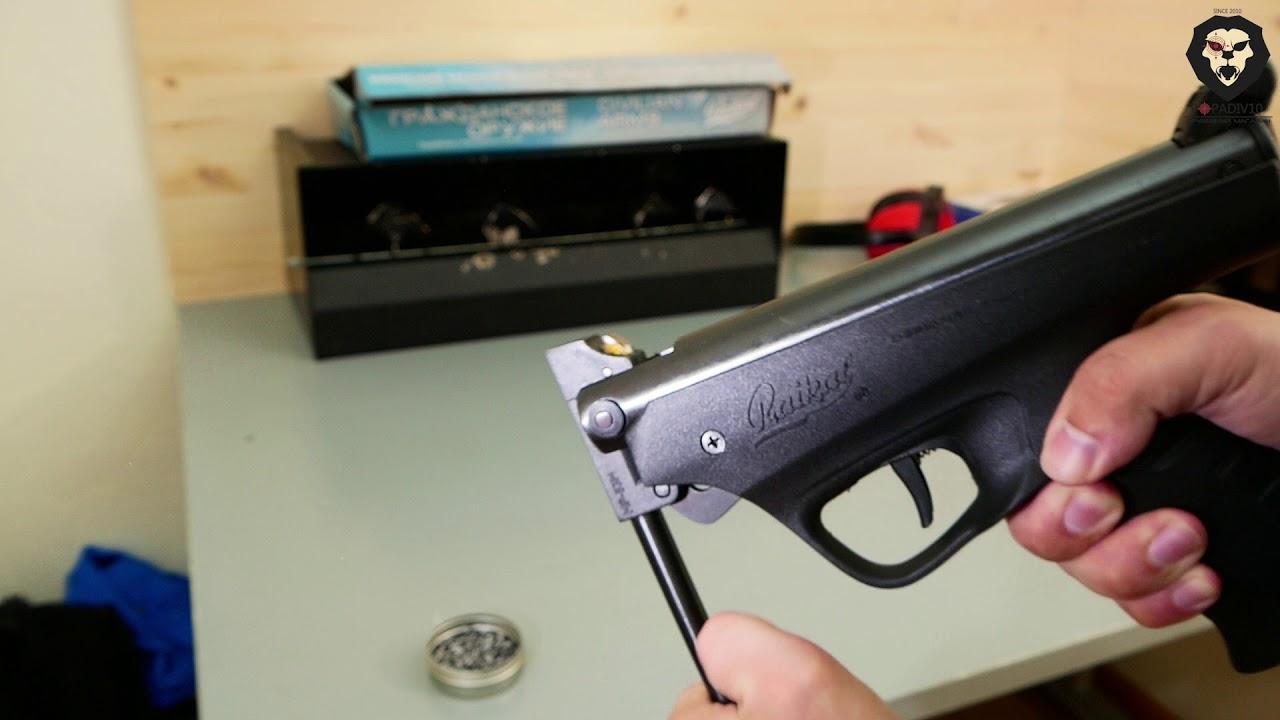 Особенности пистолетов с переломом ствола