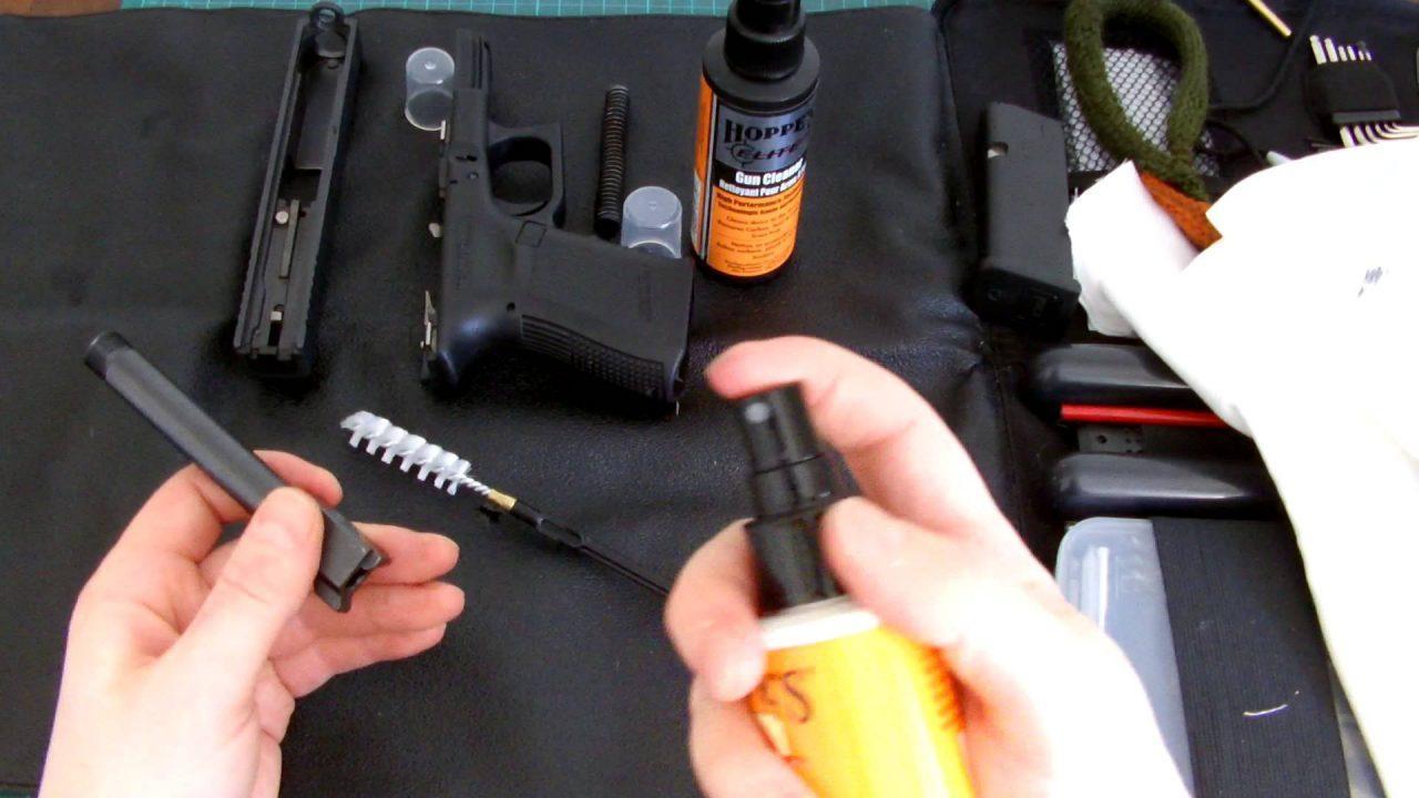 Как ухаживать за пневматическим пистолетом