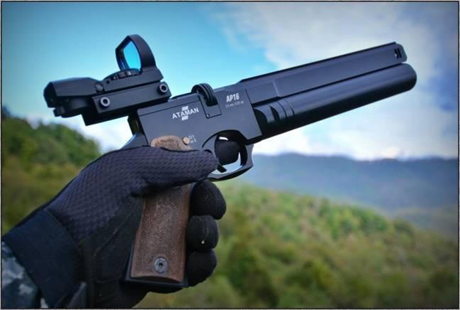 Обзор пневматического пистолета Ataman AP16