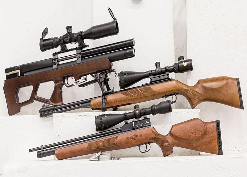 Обзор пневматических винтовок Diana
