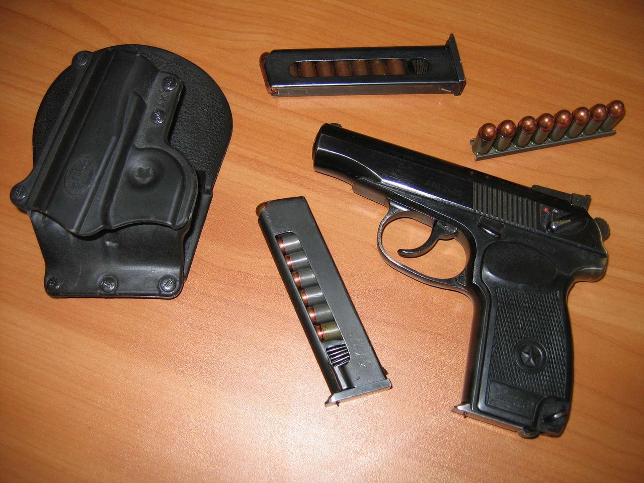 Обзор пневматического пистолета ИЖ-70