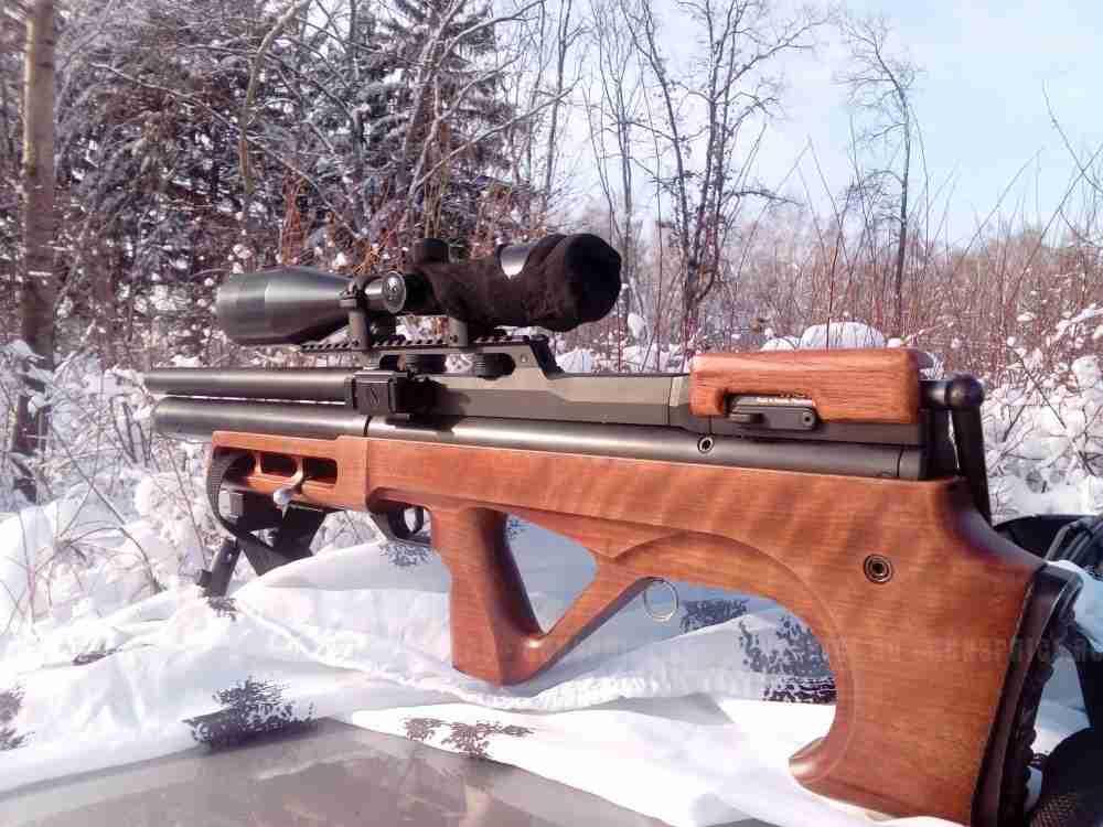 Обзор пневматической винтовки EDgun Matador R3M