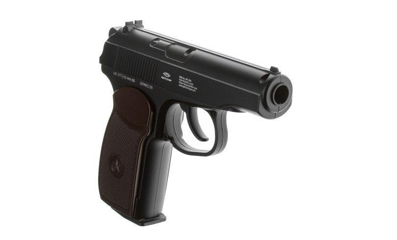 Обзор пневматического пистолета Gletcher PM