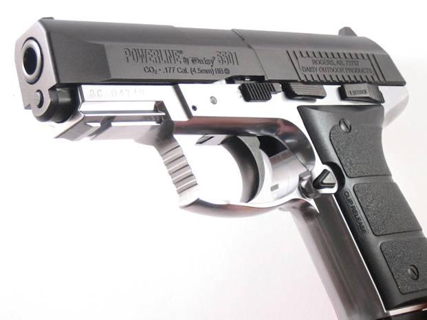 Обзор пневматического пистолета Daisy 5501