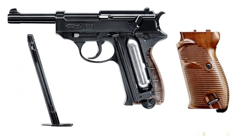 конструкция Umarex Walther P38