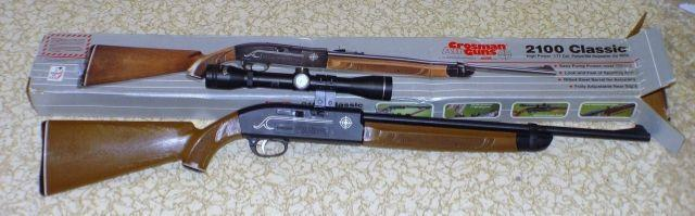Обзор пневматической винтовки Кросман 2100
