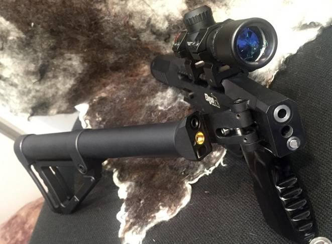 Обзор пневматической винтовки Леший EDgun