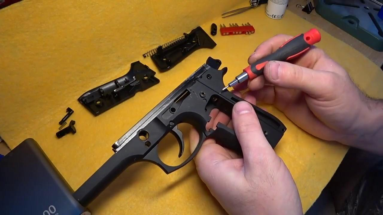 неисправности пневматических пистолетов