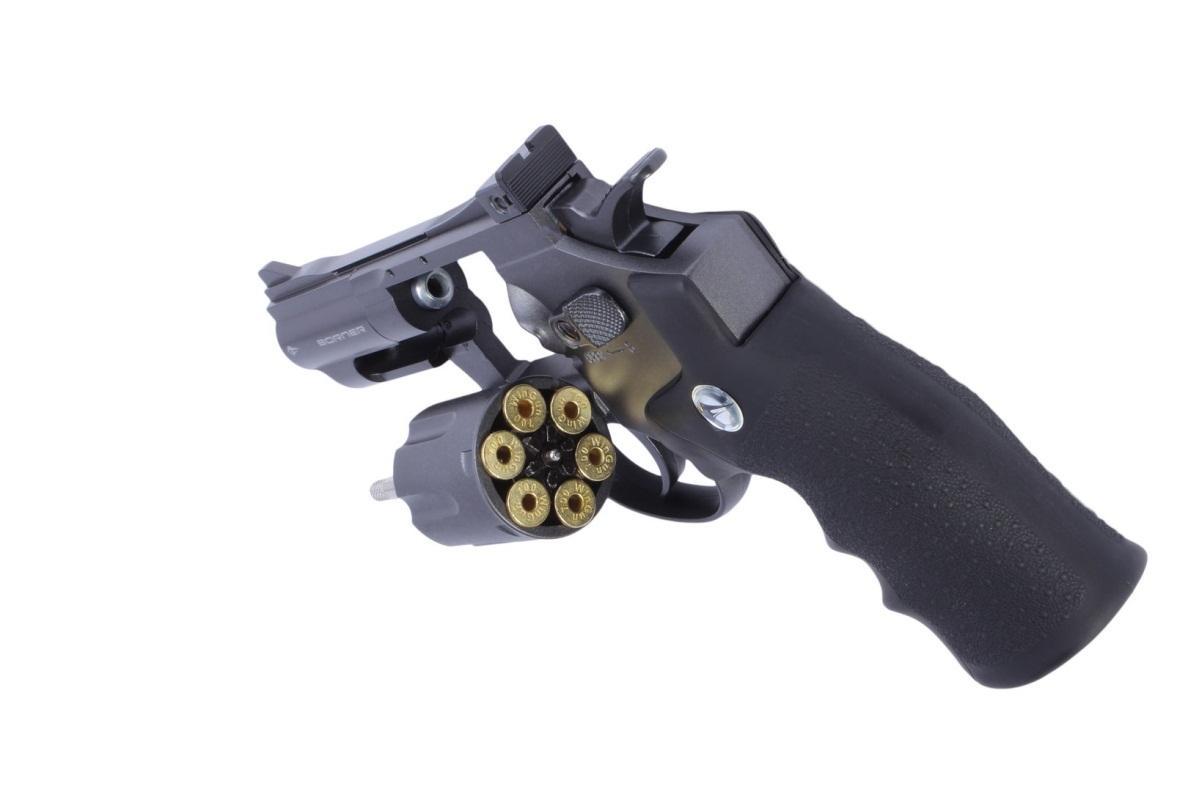 Конструкция револьвера Bornen Super Sport 708 (США)