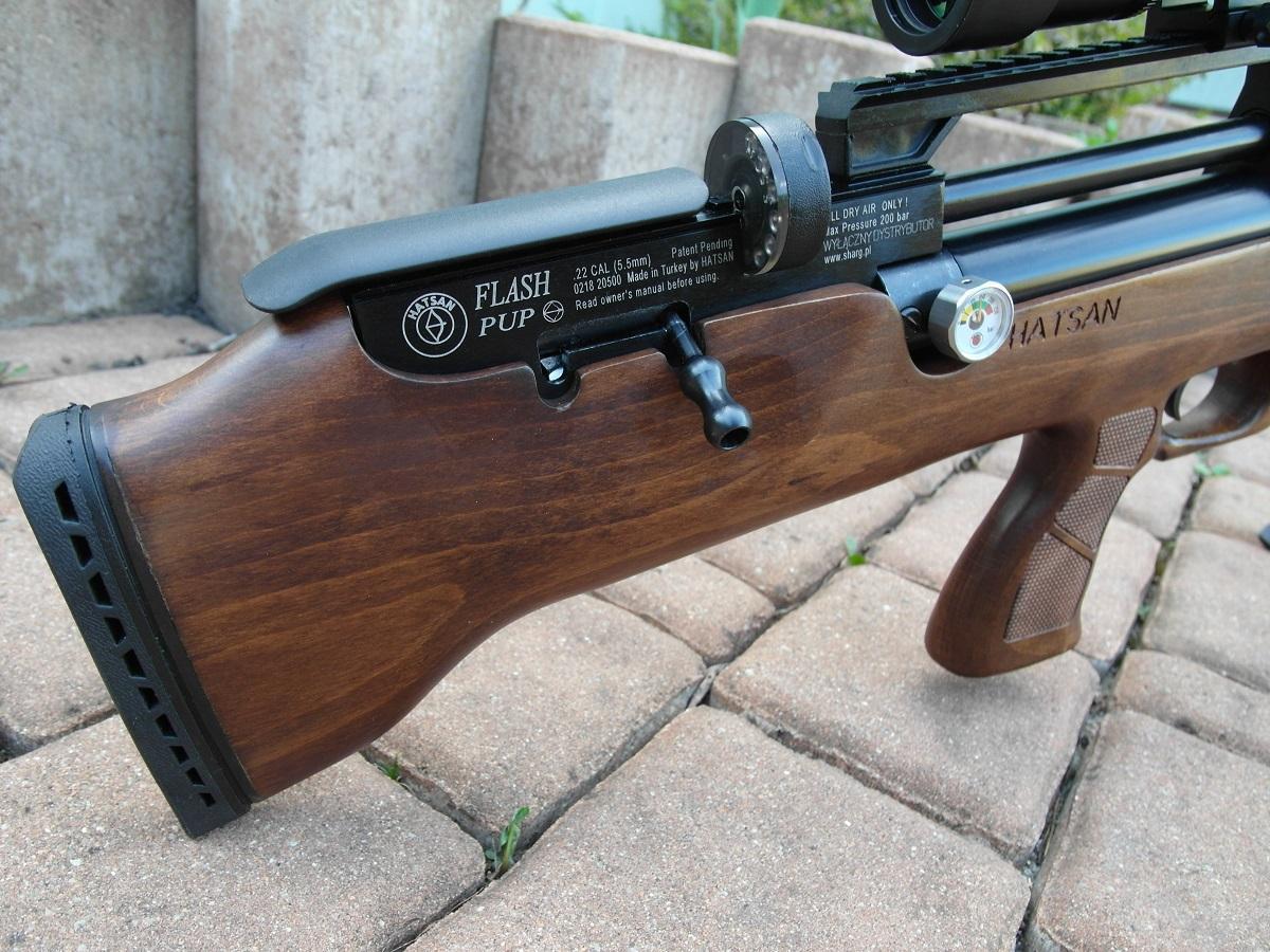 Обзор пневматической винтовки Хатсан Флеш