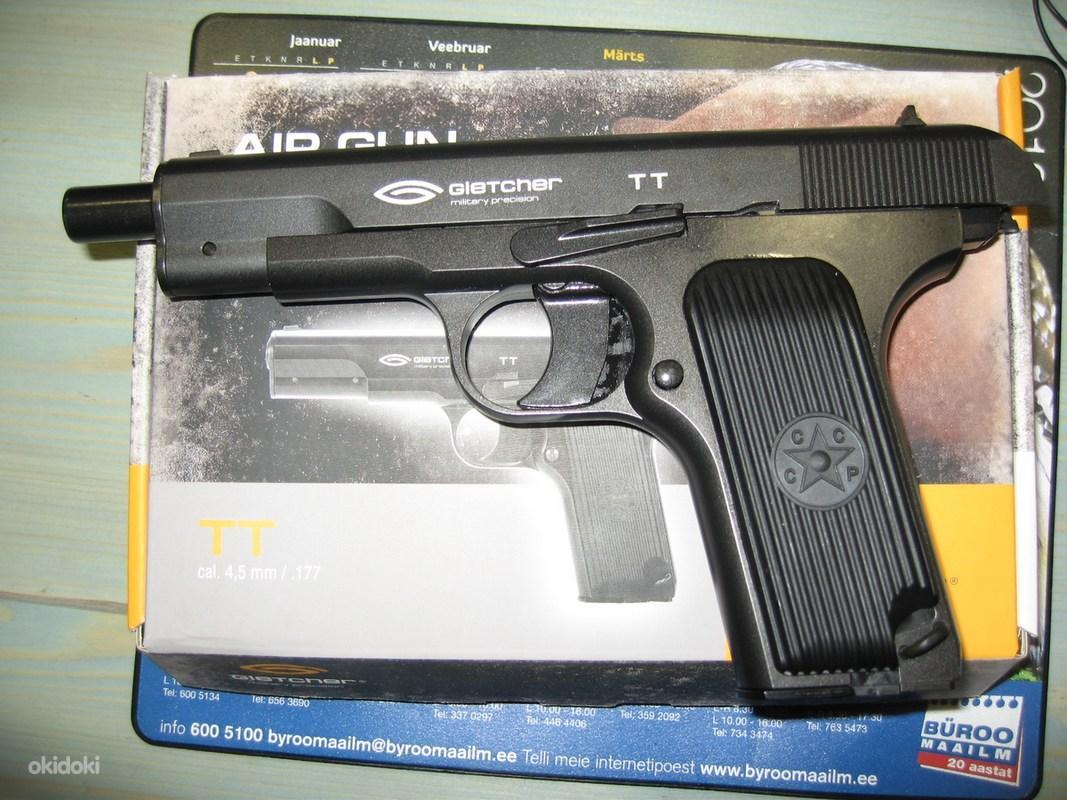 Обзор пневматического пистолета Глетчер ТТ с блоубэком