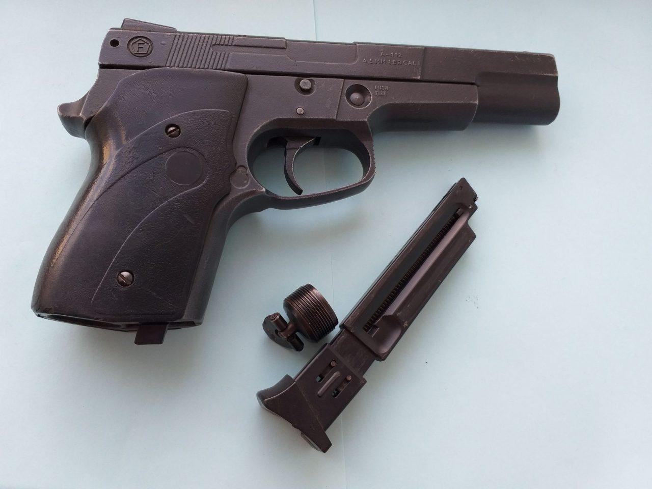 Обзор пневматического пистолета Аникс А-112