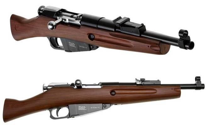 Модификации Gletcher M1891