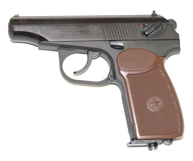 Правила ношения пневматического пистолета