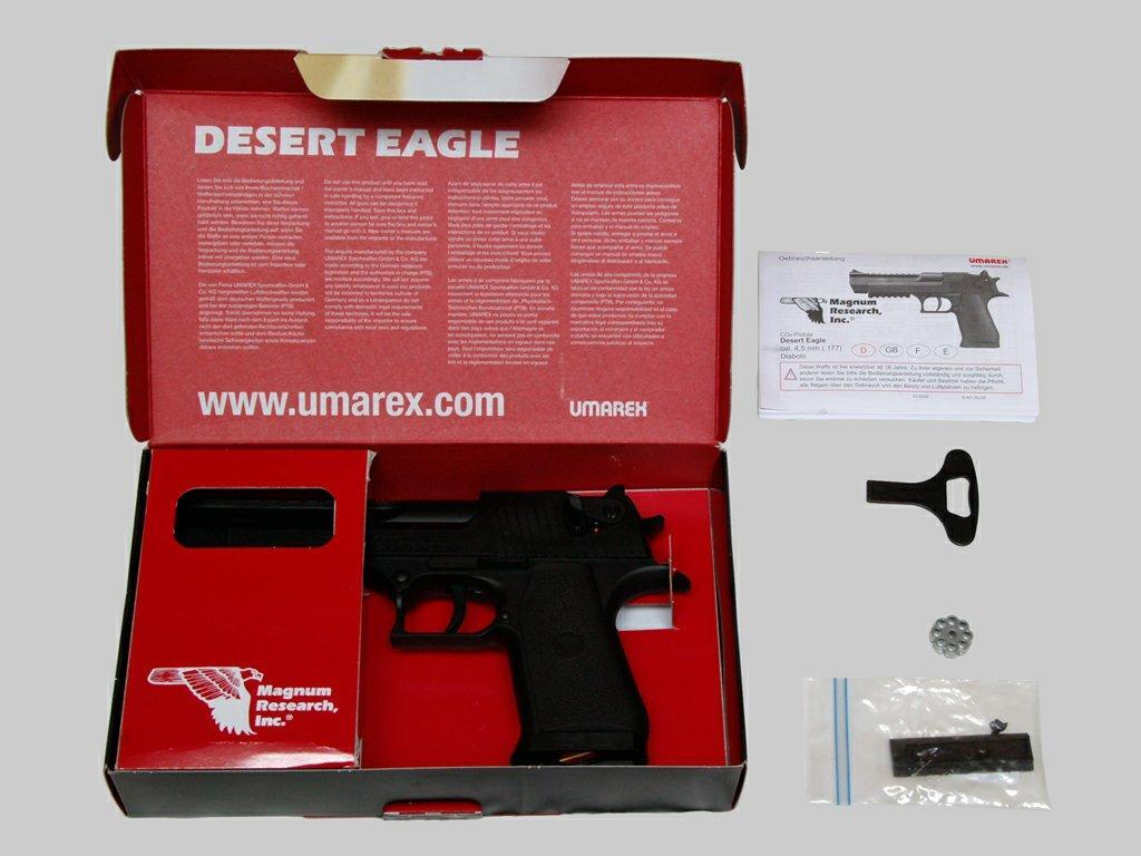 Обзор пневматического пистолета Desert Eagle