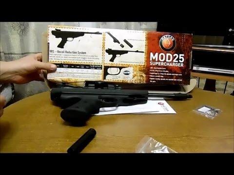 Обзор пневматического пистолета Hatsan Mod 25 Super Tactical