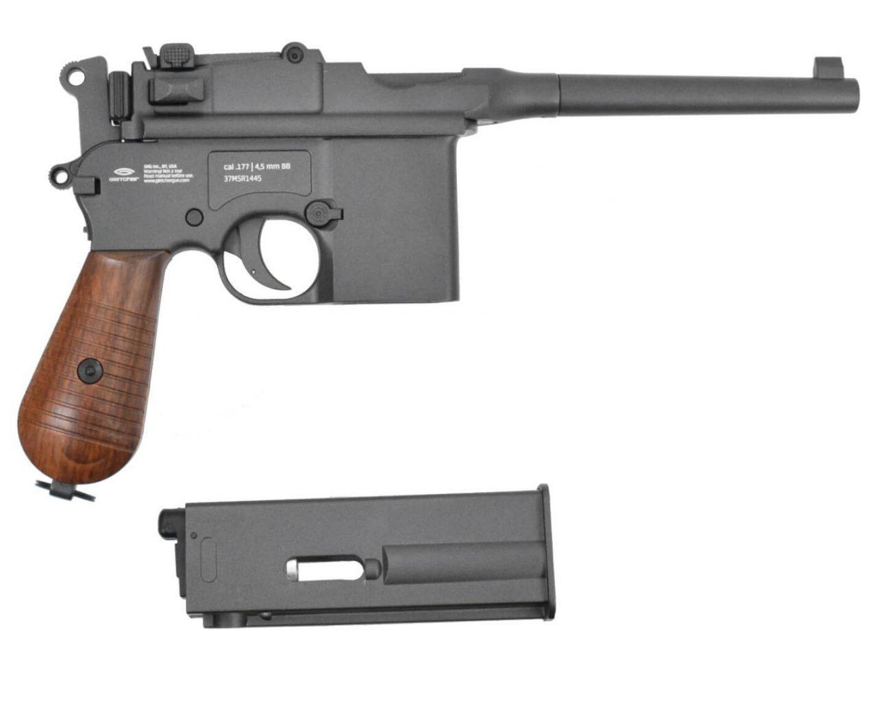Разборка Маузер Gletcher M712