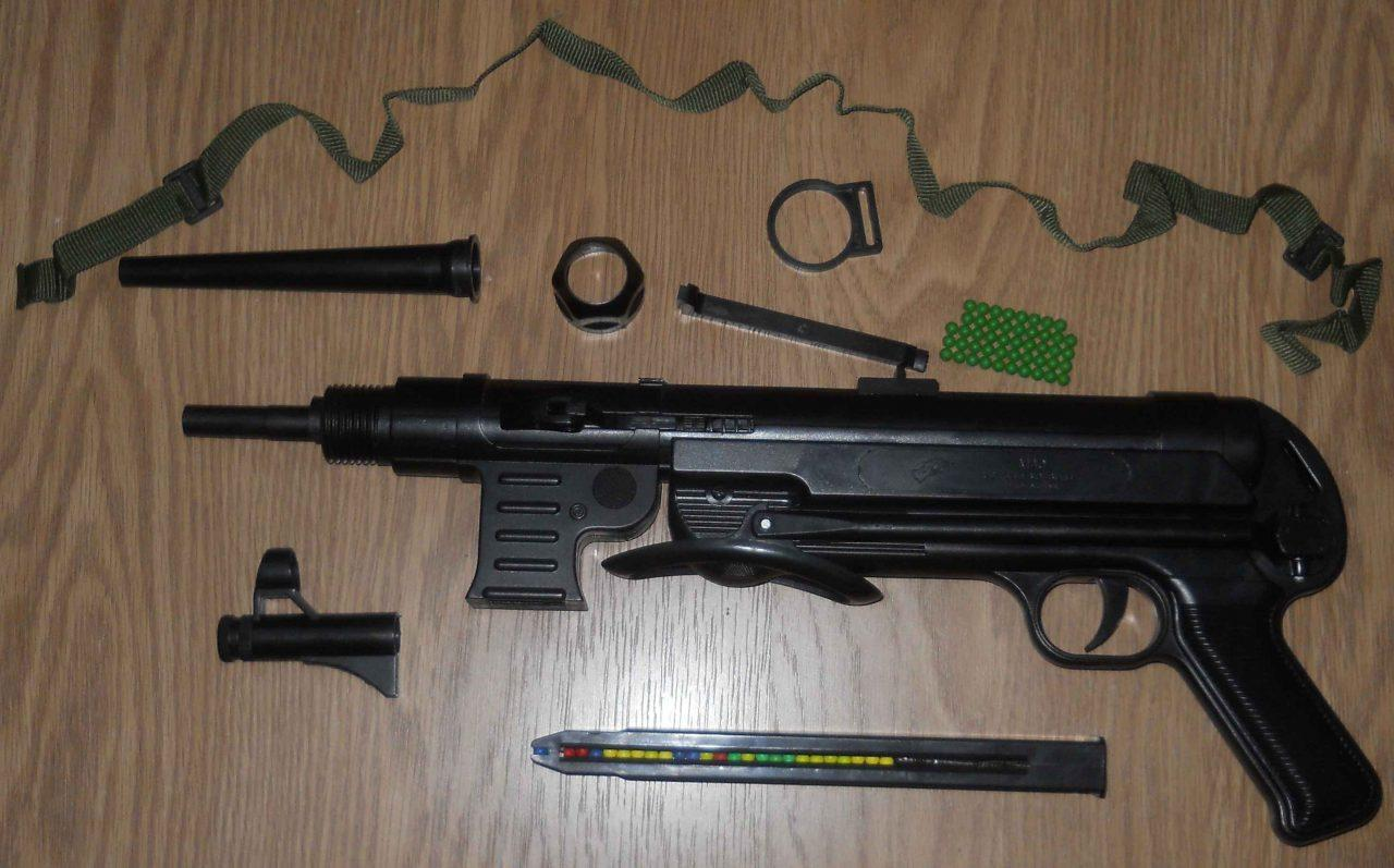 Обзор пневматического пистолета МП-40