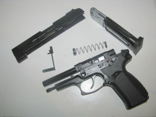 Обзор пневматического пистолета Gletcher Grach