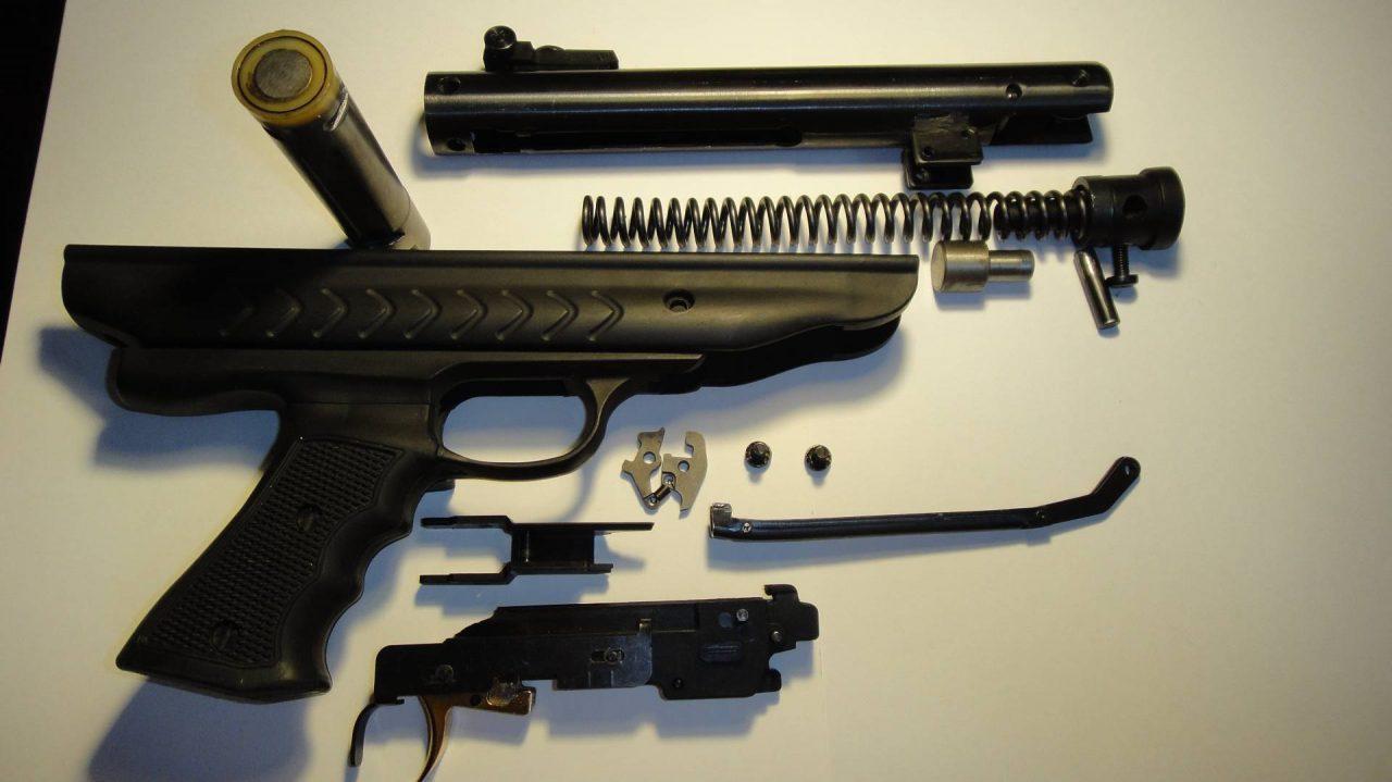 Обзор пневматического пистолета Hatsan Mod 25 Supercharger