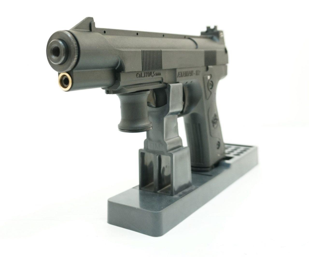 Обзор пневматического пистолета Атаман М2