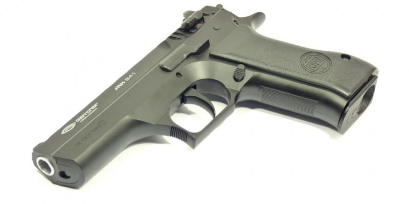 Обзор пневматического пистолета Gletcher JRH 941