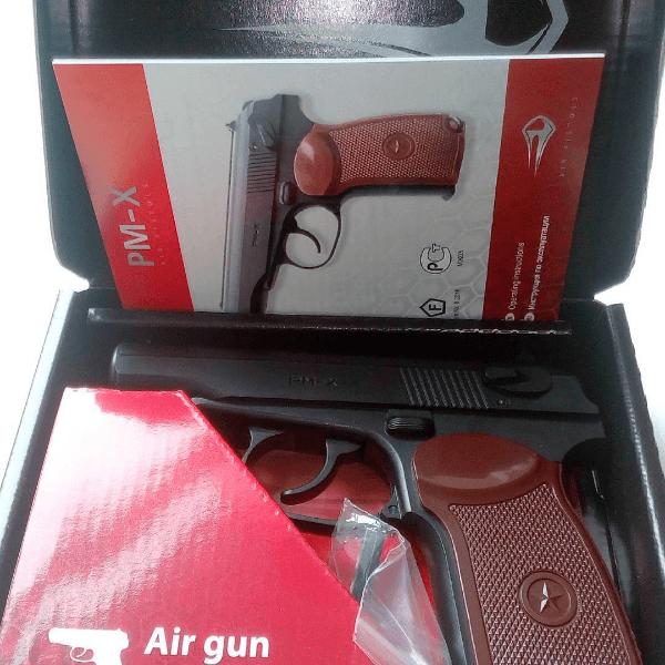 Обзор пневматического пистолета Borner PM-X