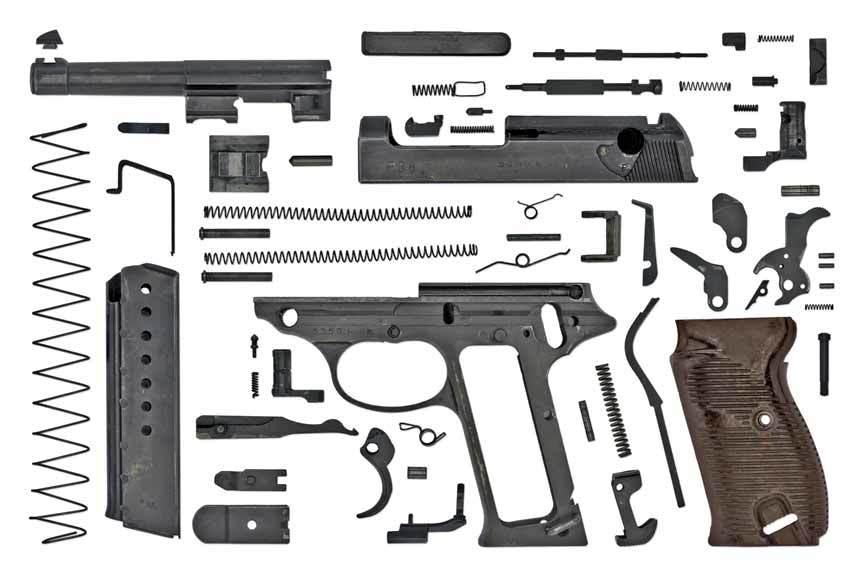 разборка Umarex Walther P38