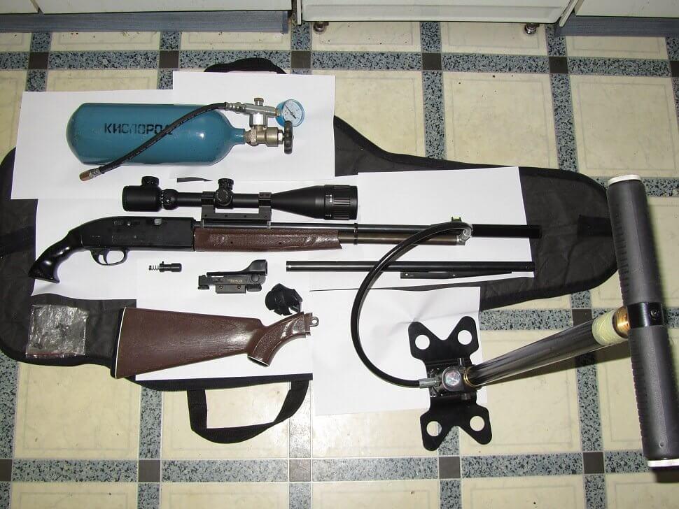 Разборка пневматической винтовки Кросман 2100