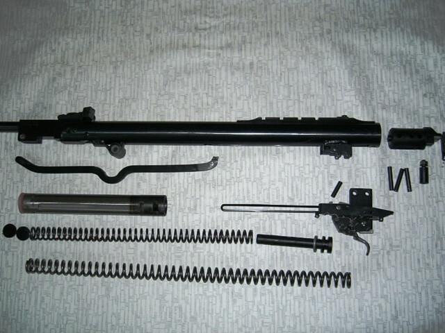 Разборка пневматической винтовки Hatsan 70