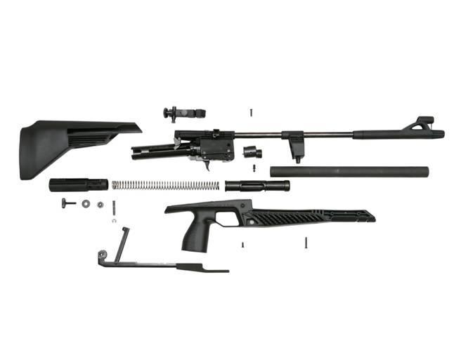 Разборка пневматической винтовки МР-553К