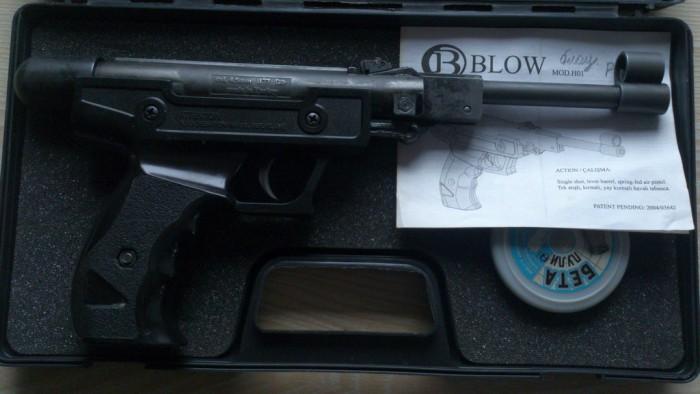 Обзор пневматического пистолета Blow H 01