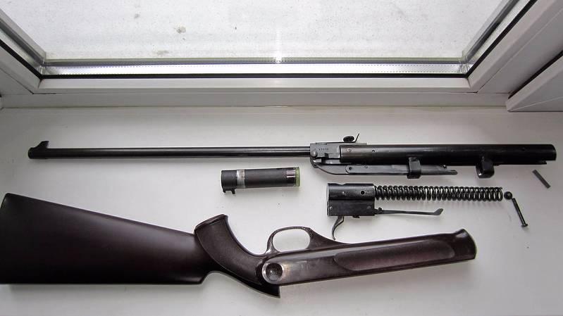 Обзор пневматической винтовки ИЖ-22
