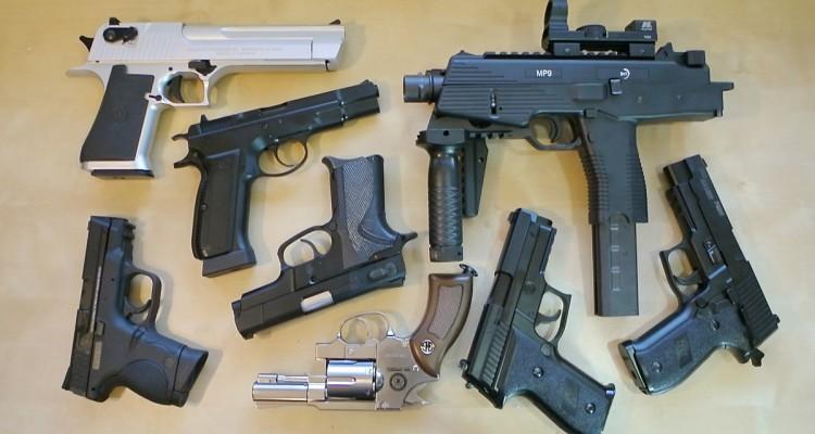 мощные страйкбольные пистолеты