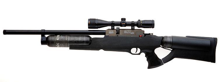 PCP-винтовки и PCP-пистолеты — с предварительной накачкой