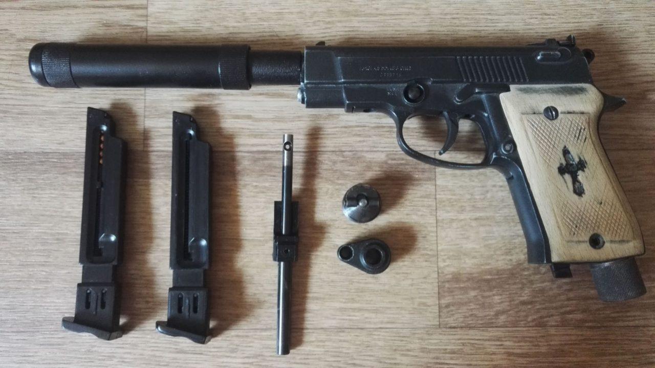 Обзор пневматического пистолета Аникс А-101