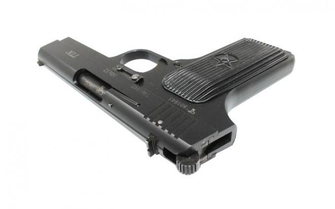 Обзор травматического пистолета ТТК