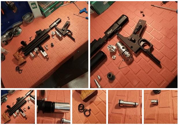 Как усилить пневматическую винтовку