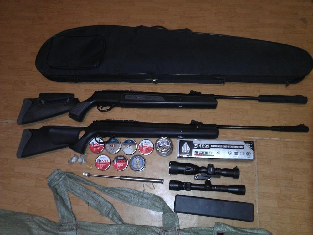 Разборка пневматической винтовки Хатсан 55с