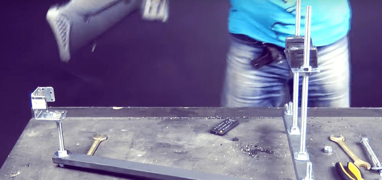 Как сделать станок для пристрелки автоматики