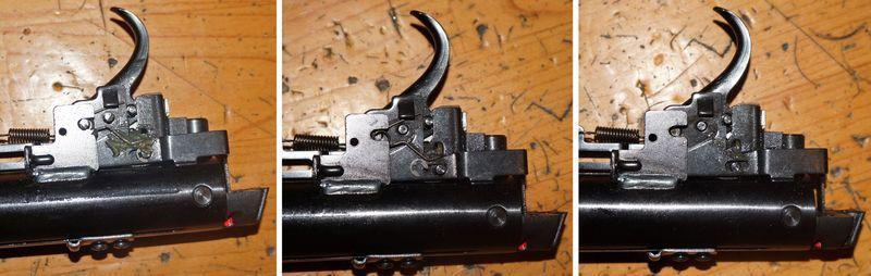 Разворачиваем ружье правым боком на себя1