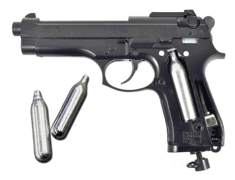 Газобалонный пистолет
